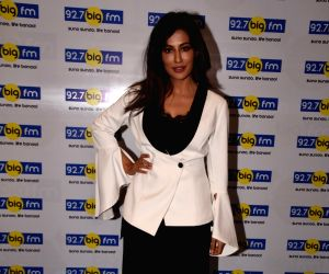 Chitrangada Singh during a radio show