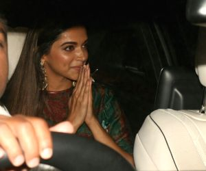 "Deepika, Shahid and other celebs at ""Padmaavat"" special screening"