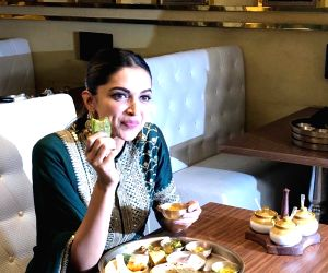 Deepika celebrates the success of her film by feasting on a Rajasthani thali