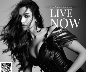 :Actress Deepika Padukone launched her own website - deepikapadukone. com on the occasion of her birthday..