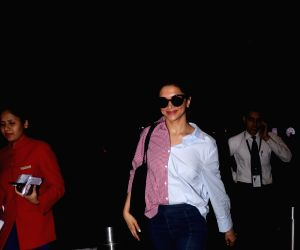 Deepika Padukonespotted at airport