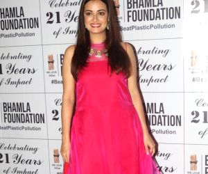 """Launch of """"Beat Plastic Pollution"""" campaign - Dia Mirza"""