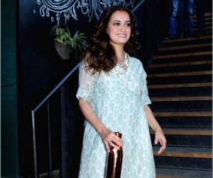 Dia Mirza during a programme