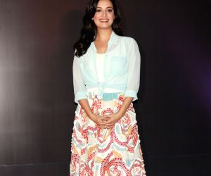 Dia Mirza during a product launch