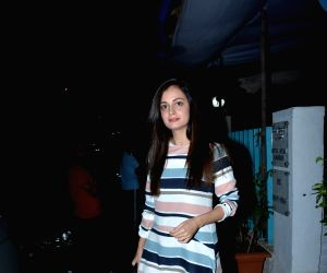 Dia Mirza seen at a salon