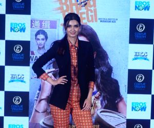 "Trailer launch of film ""Happy Phirr Bhag Jayegi"" -  Diana Penty"
