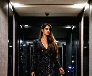 Lakme Fashion Week 2019: Disha Patani dazzles on the ramp in a black sparkling outfit!