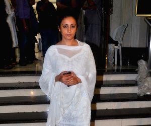 Kundan Shah prayer meet - Divya Dutta