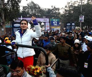 Fatima Sana Shaikh at 'Run for Bihar