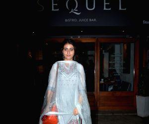 Fatima Sana Shaikh seen at Bandra