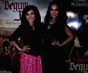 Screening of film Begum Jaan