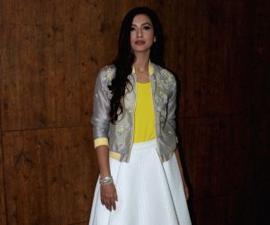 Gauhar Khan spotted at a fashion show