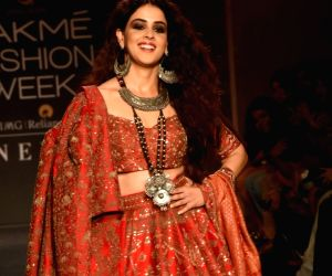 Genelia D'souza's adorable ramp walk pics at LFW 2019 will leave you spell bound