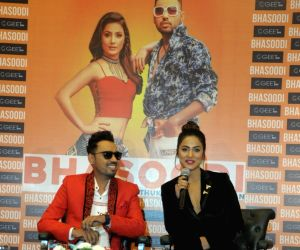 "Song launch ""Bhasoodi"" - Hina Khan and Sonu Thukral"