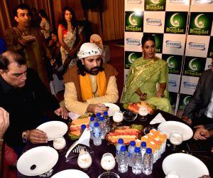 Hina Khan during iftar party