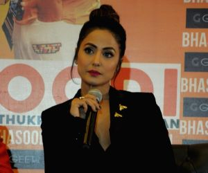 "Song launch ""Bhasoodi"" - Hina Khan"