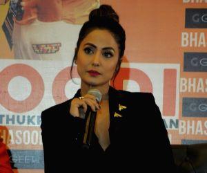 "Song launch ""Bhasoodi"" - Hina Khan"