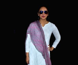 """Actress Huma Qureshi at the """"Zoom Holi Party"""" in Mumbai on March 2, 2018."""