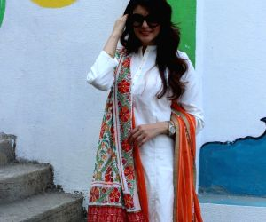 Ihana Dhillon during a photo shoot