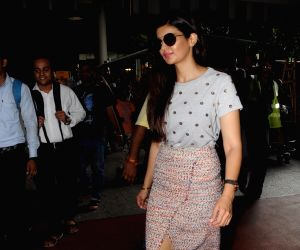Ihana Dhillon seen at Mumbai Airport