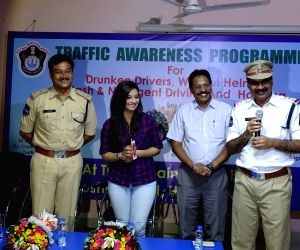 Traffic awareness programme - Isha Chawla