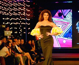 Jacqueline at  Blenders Pride fashion show