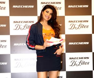 Jacqueline Fernandez launches a shoes collection
