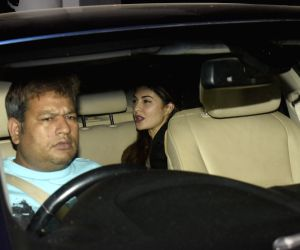 Jacqueline Fernandez seen at Soho House in Juhu