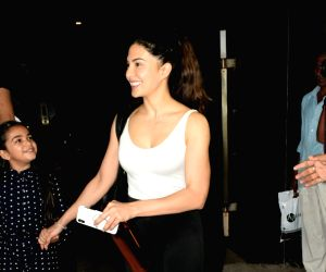 Jacqueline Fernandez seen outside Mukesh Chhabra's office