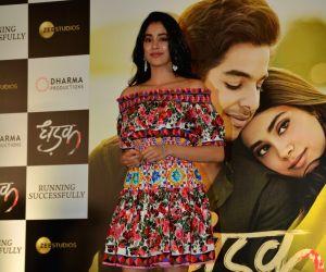"""Success meet of film """"Dhadak"""" - Janhvi Kapoor"""