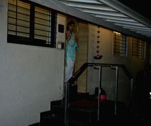 Janhvi Kapoor seen at a matrix office