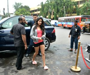 Janhvi Kapoor seen at Mumbai's Bandra