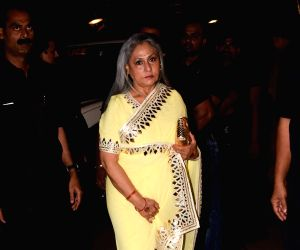 Jaya Bachchan at a wedding reception