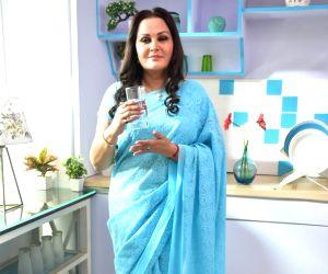 Jaya Prada during a photo shoot