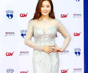 Actress Jung Jae-yun at BIFAN opening