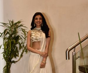 Actress Kajal Aggarwal at the special preview of a fashion brand  in Mumbai on May 8, 2018.
