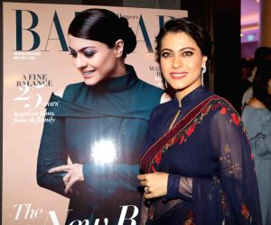 Kajol during the launch of 'The Iconic Book