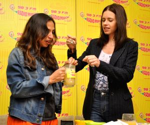 Kalki Koechlin during the promotion of film Margarita With A Straw