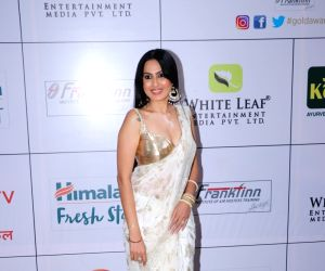 "Red carpet of ""Gold Awards 2018"" - Kamya Punjabi"