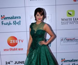 "Red carpet of ""Gold Awards 2018"" - Kanchi Singh"