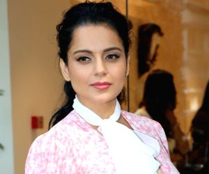 Kangana Ranaut gives off