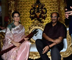 "Manikarnika: The Queen of Jhansi"" trailer launch"