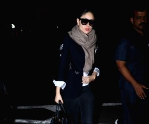 Kareena Kapoor Khan seen at airport