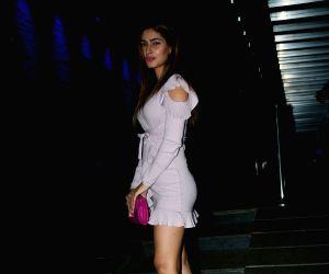 Karishma Sharma seen at a restaurant