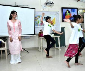 Karishma Sharma visits Smile Foundation