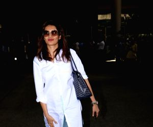 Karishma Tanna seen at airport
