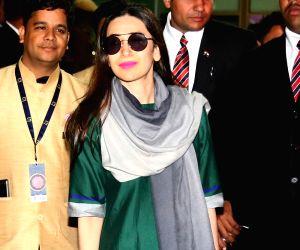 Karisma Kapoor arrives for Isha Ambani-Anand Piramal's pre-wedding functions