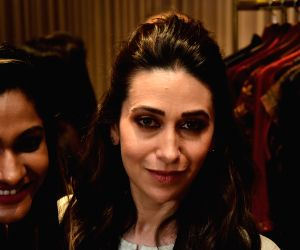 Karisma Kapoor at a store launch