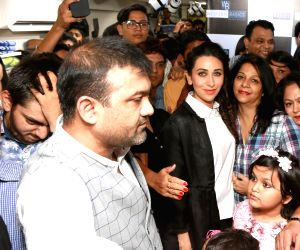 Karisma Kapoor during a promotional programme