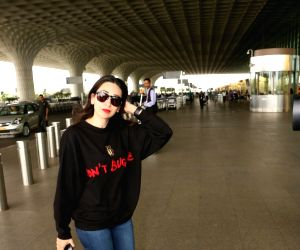 Karisma Kapoor spotted at airport